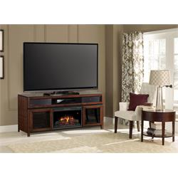 Classis Flame Fireplace with Sound Speakers 26MMS94667-MCH Image
