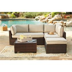 Loveseat Sectional Otto/Table P300-070 Image