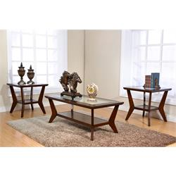 Coffee and End Tables-Bryant - Sable T9903-3P Image