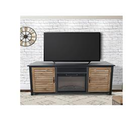 Wyoming Console Metal 76x31x7 Sound Bar Fire Place CFWM00973 Image