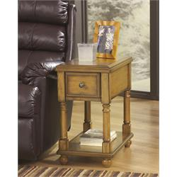 Ashely Oak Chairside Table T007-430 Image